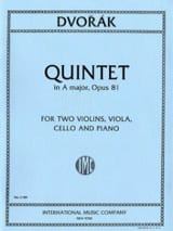 DVORAK - Quintet in A major op. 81 - Parts - Sheet Music - di-arezzo.com