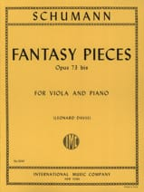 SCHUMANN - Fantasy Pieces op. 73 bis - Sheet Music - di-arezzo.co.uk