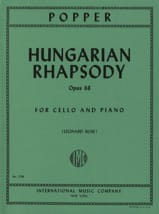 David Popper - Hungarian Rhapsody op. 68 - Partition - di-arezzo.fr