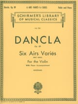 DANCLA - 6 Various tunes op. 89 - Sheet Music - di-arezzo.co.uk