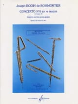Concerto Op. 15 N° 6 en Mi Mineur BOISMORTIER laflutedepan.com