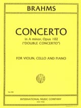 BRAHMS - Concerto in A minor op. 102 Double concerto - Vln, Vc, Po - Sheet Music - di-arezzo.co.uk