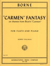 François Borne - Carmen Fantasy - Sheet Music - di-arezzo.co.uk