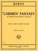 Carmen Fantasy François Borne Partition laflutedepan.com