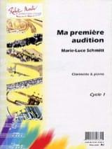 Ma première audition Marie-Luce Schmitt Partition laflutedepan.com