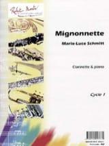 Mignonnette Marie-Luce Schmitt Partition Clarinette - laflutedepan.com