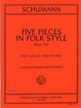 5 Pieces in Folk Style op. 102 Robert Schumann laflutedepan.com