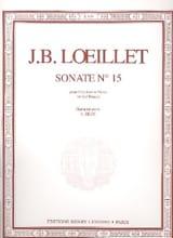 Jean-Baptiste Loeillet - Sonata No. 15 in G major - Oboe - Sheet Music - di-arezzo.com