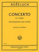 Concerto in C major –Bassoon piano laflutedepan.com