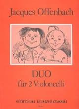 Duo Für 2 Violoncelli Op 54 N° 2 Jacques Offenbach laflutedepan.com