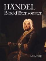 Blockflötensonaten Georg Friedrich Haendel Partition laflutedepan.com