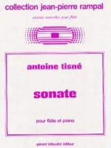 Antoine Tisné - Sonate - Flûte piano - Partition - di-arezzo.fr