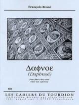Daphnoé François Rossé Partition Flûte à bec - laflutedepan.com