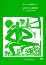 Sonate brillante - Sopranblockflöte Anton Heberle laflutedepan.com