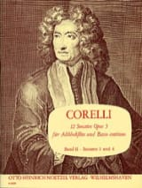 CORELLI - 12 Sonaten op. 5 - Bd. 2 - Altblockflöte u. Bc - Sheet Music - di-arezzo.co.uk
