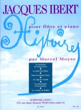 Jacques Ibert - Stories Complete Collection - Piano Flute - Sheet Music - di-arezzo.co.uk