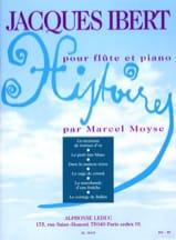 Histoires Recueil complet -Flûte piano Jacques Ibert laflutedepan.com