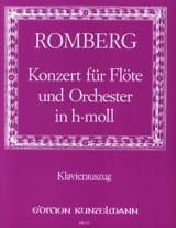 Concerto en Si Min. Opus 30 Bernhard Romberg laflutedepan.com