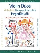 Duos pour les premiers pas, 2 violons Lajos Vigh laflutedepan.com