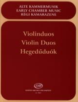 Violinduos Partition Violon - laflutedepan.com