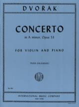 DVORAK - Violin Concerto op. 53 in A minor - Sheet Music - di-arezzo.com