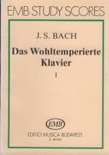 Das Wohltemperierte Klavier - 1 - BACH Partition laflutedepan.com
