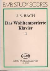 Das Wohltemperierte Klavier - 2 - BACH Partition laflutedepan.com