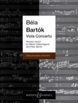 Béla Bartok - Viola Concerto op. posth rev. towards. Dellamaggiore - Sheet Music - di-arezzo.com