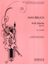 Max Bruch - 8 Stücke op. 83, No. 4 d-Mull - Klarinette Viola Klarinette - Sheet Music - di-arezzo.com