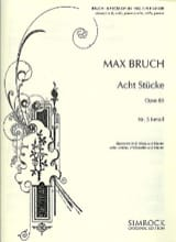 Max Bruch - 8 Stücke op. 83, no. 5 f-moll - Klarinette Viola Klavier - Sheet Music - di-arezzo.co.uk