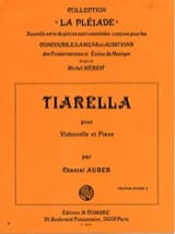 Chantal Auber - Tiarella - Partition - di-arezzo.fr