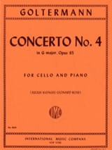 Concerto n° 4 sol majeur op. 65 Georg Goltermann laflutedepan.com