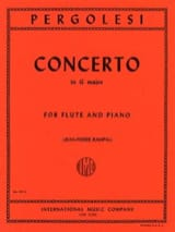 Concerto in G major – Flute piano laflutedepan.com