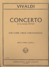 Concerto in G minor RV 103 – Flute oboe bassoon - laflutedepan.com