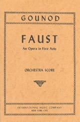 Charles Gounod - Faust - Score - Partition - di-arezzo.fr