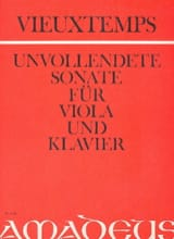 Unvollendete Sonate op. posth. Henri Vieuxtemps laflutedepan.com