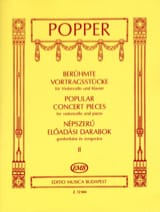 Popular Concert Pieces Volume 2 - Violoncelle laflutedepan.com