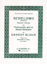 Ernest Bloch - Schelomo - Cello und Klavier - Noten - di-arezzo.de