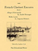 French Clarinet Encores - Book 1 Partition laflutedepan.com