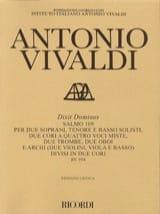 Dixit Dominus (Salmo 109) RV 594 Antonio Vivaldi laflutedepan.com