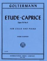 Etude-Caprice op. 54 n° 4 - Georg Goltermann - laflutedepan.com