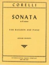 Sonata in B minor op. 5 n° 8 -Bassoon laflutedepan.com