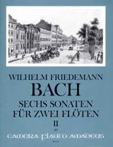 Wilhelm Friedemann Bach - 6 Sonaten, Volume 2 - 2 Flutes - Sheet Music - di-arezzo.co.uk