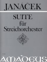 Suite für Streichorchester - Partitur JANACEK Partition laflutedepan