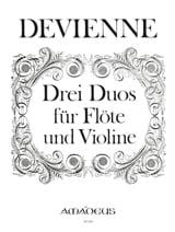 François Devienne - 3 Duos - Partition - di-arezzo.fr