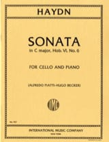 Joseph Haydn - Sonata in C Major Hob. 6 n ° 6 - Sheet Music - di-arezzo.co.uk