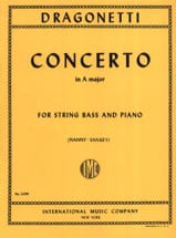 Domenico Dragonetti - Concerto in A major - String bass - Sheet Music - di-arezzo.com
