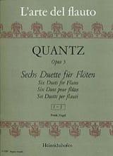 6 Duette op. 5 - Heft 1 - 2 Flöten laflutedepan.com
