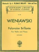 Henryk Wieniawski - Polonaise brillante op. 4 - Partition - di-arezzo.fr