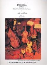 Leos Janacek - Pohadka - Sheet Music - di-arezzo.co.uk